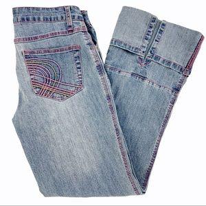 y2k Vibes! Stretch Capri Length Jeans